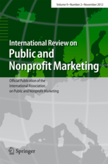 Intl Review on Public and Nonprofit Marketing