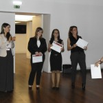 Beatriz Casais, Daniela Langaro & Gisele Araújo (& José Filipe Macedo - not present): Shortlisted for Best Thesis Award ICIEMC 2016