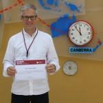 Armando Luís Vieira: Best Paper Award ICIEMC 2016