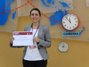 Liliana Ribeiro - Best Paper Award