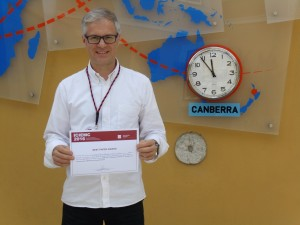 Armando Luís Vieira - Best Paper Award